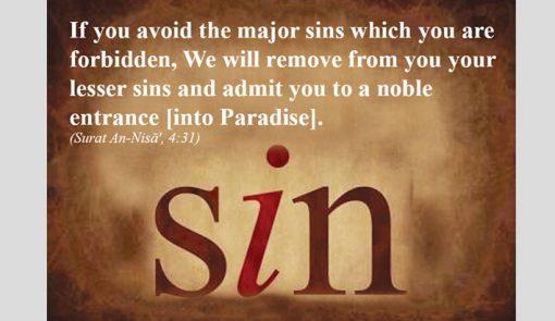 major sins in islam