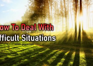 how to deal with difficult situations