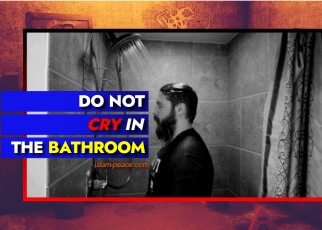 do not cry in the bathroom